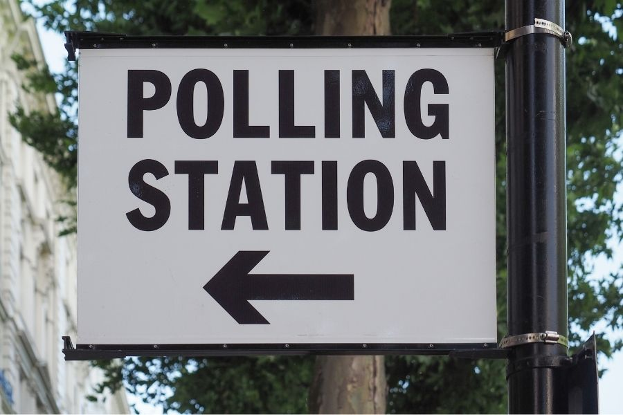How to find polling station